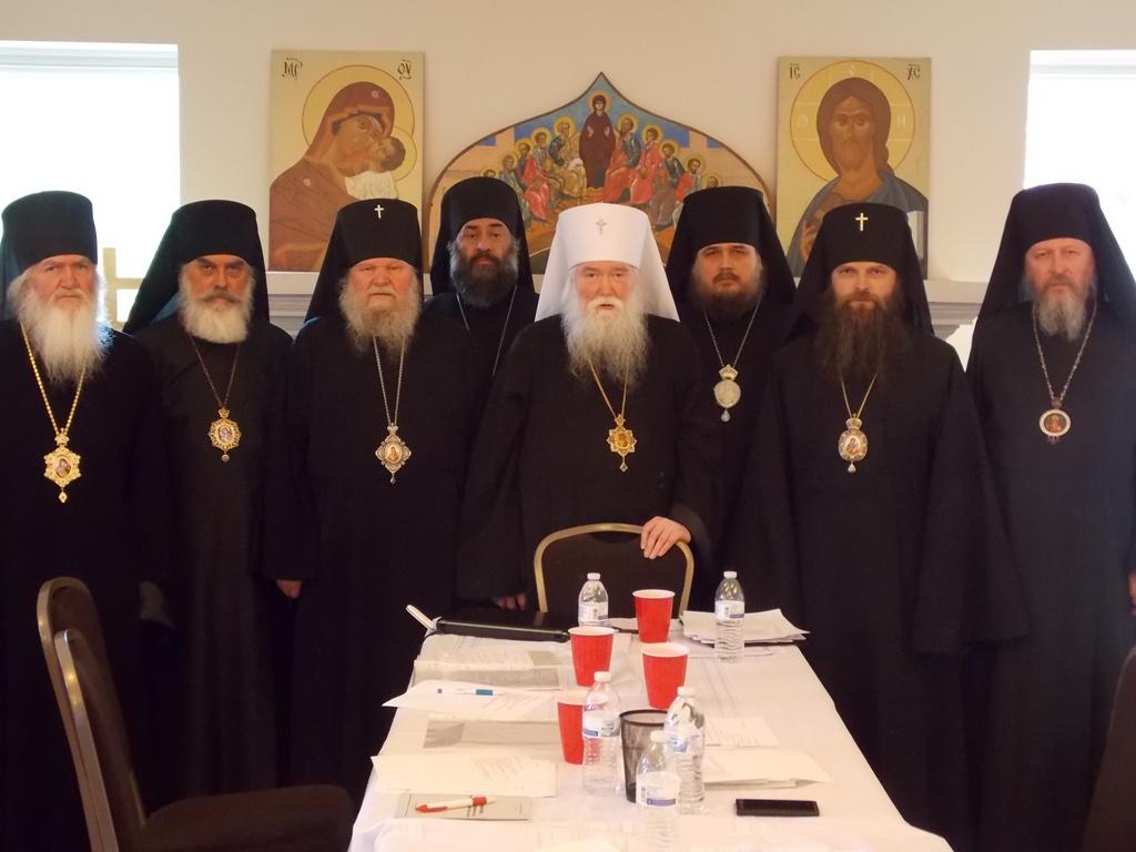 РПЦЗ: Начал работу Архиерейский Собор